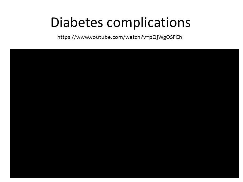 https://www.youtube.com/watch?v=pQjWgOSFChI Diabetes complications