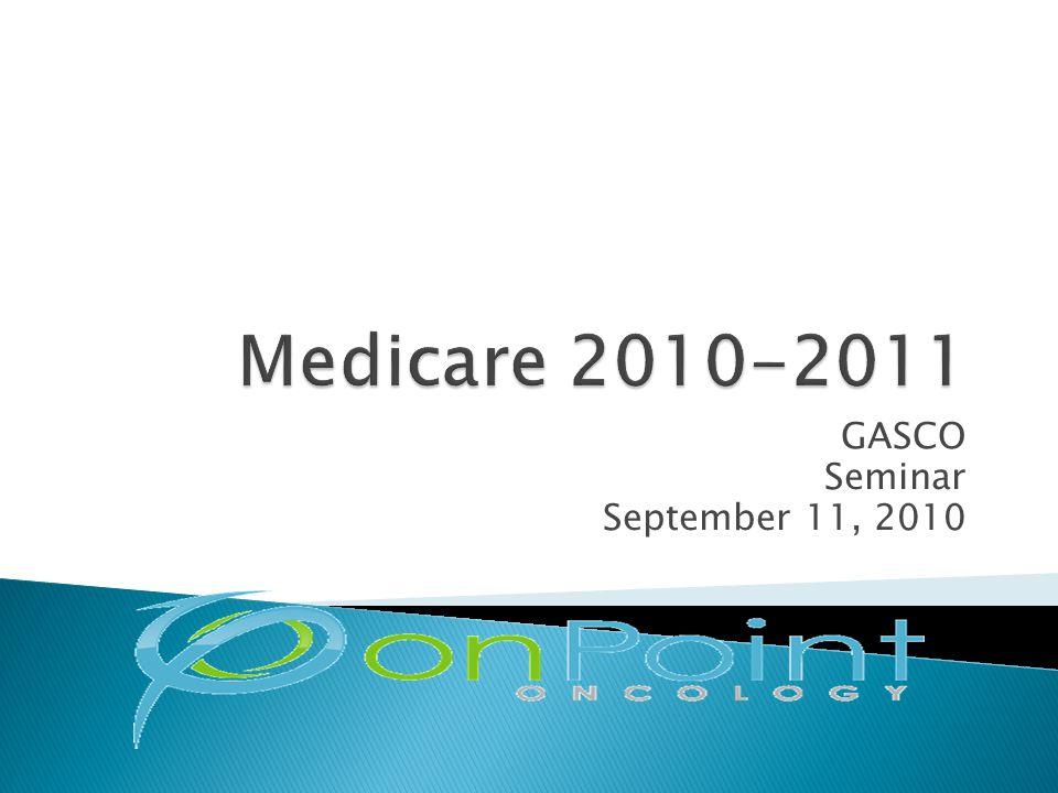 GASCO Seminar September 11, 2010