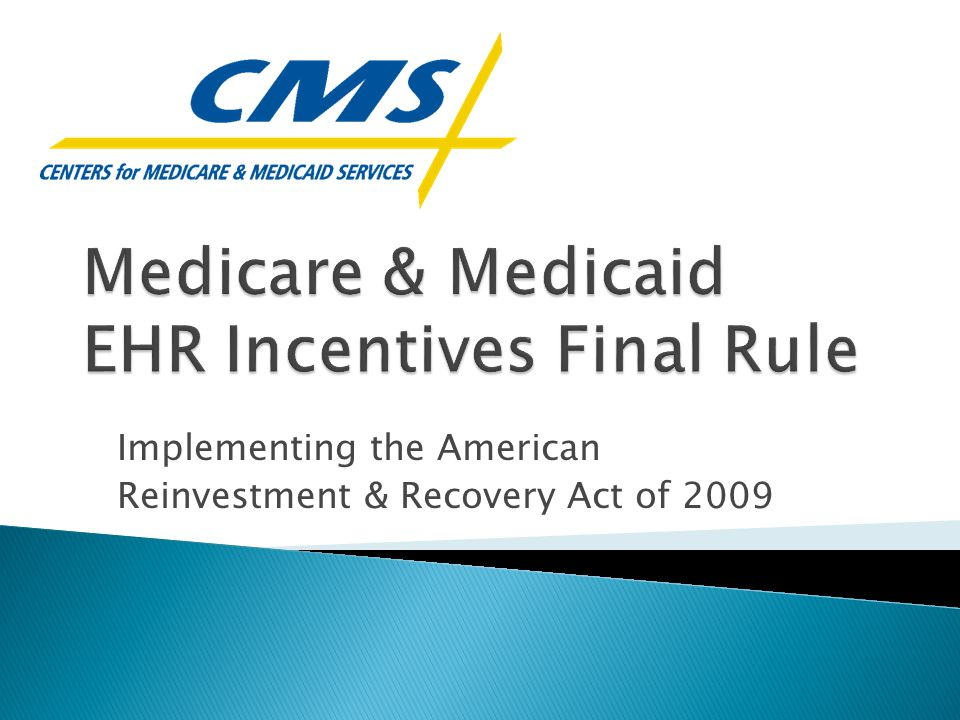 Implementing the American Reinvestment & Recovery Act of 2009