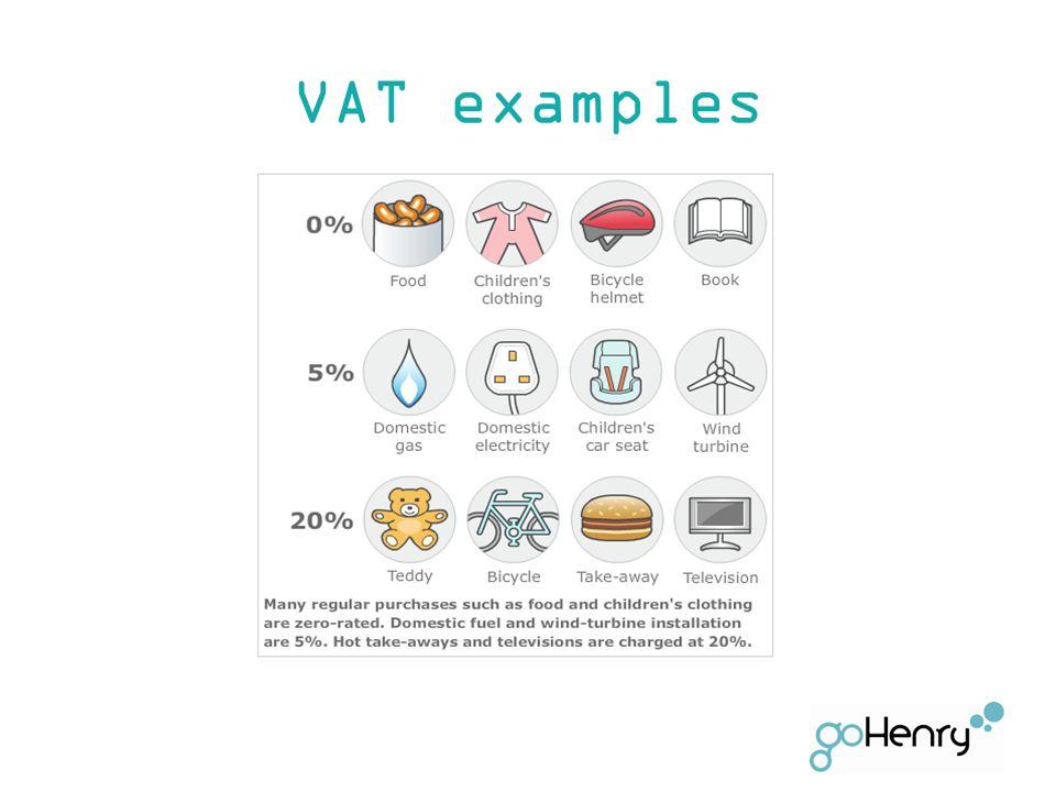 VAT examples