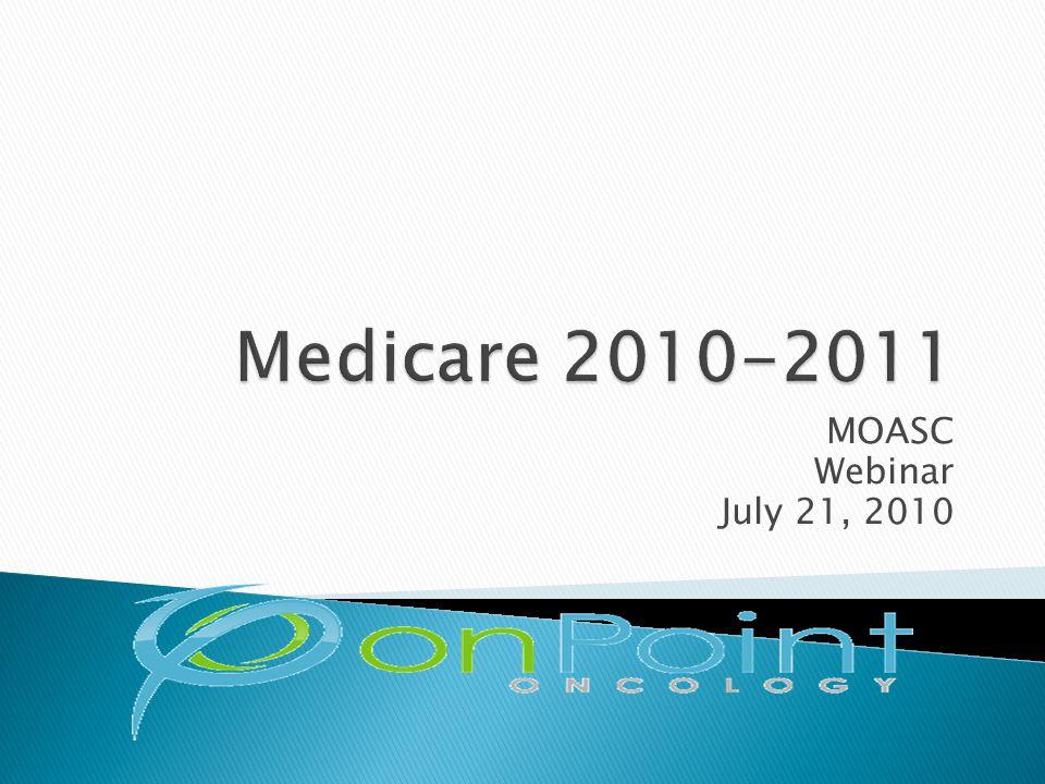 MOASC Webinar July 21, 2010