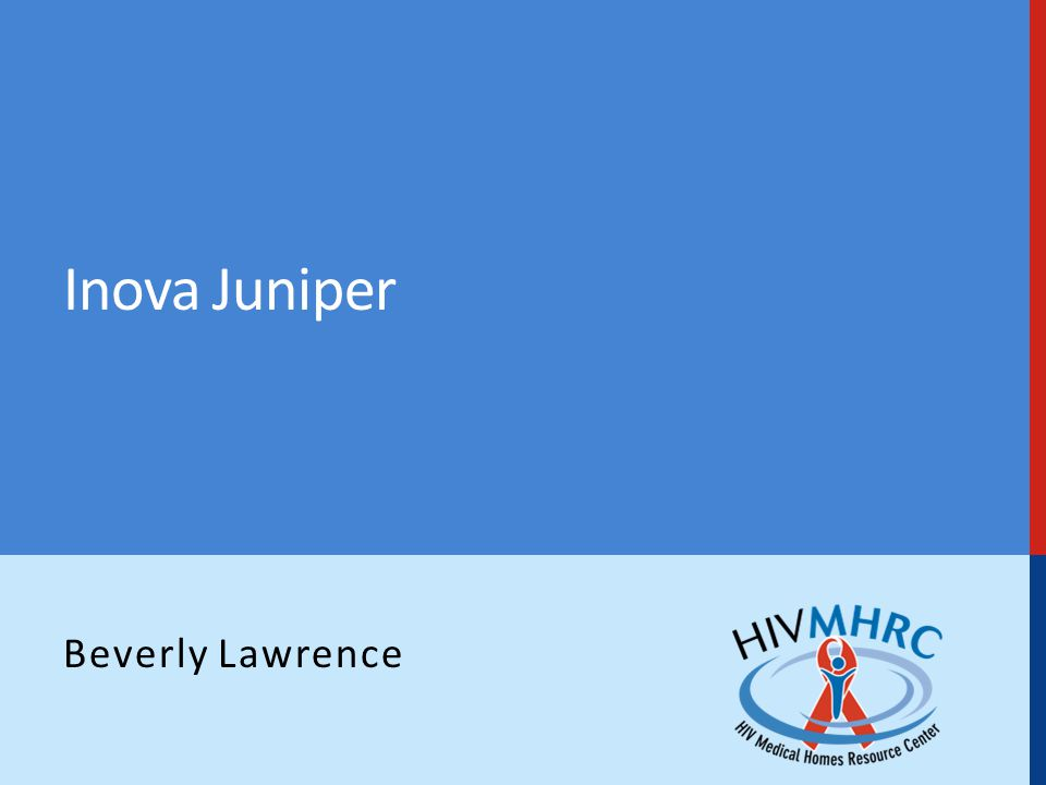 Inova Juniper Beverly Lawrence