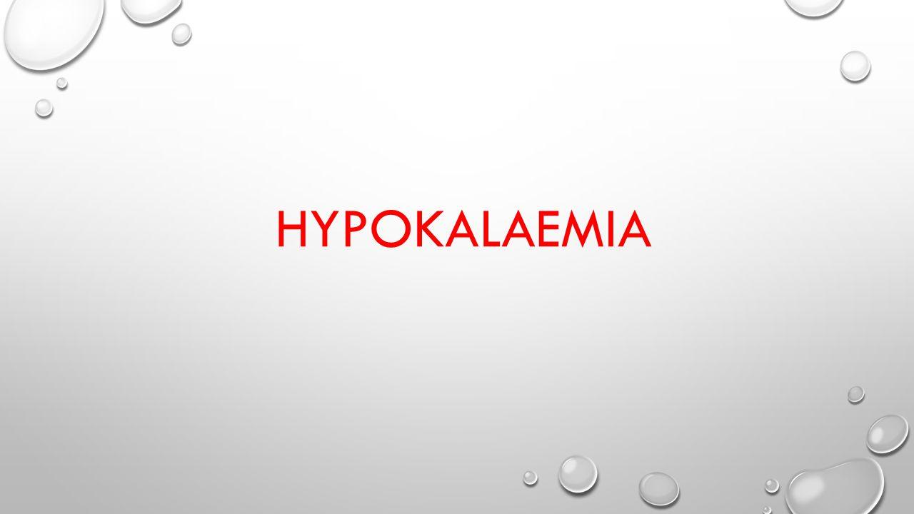 HYPOKALAEMIA
