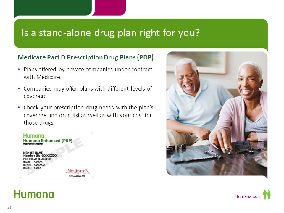 Humana.com The basic plan (defined by Medicare).