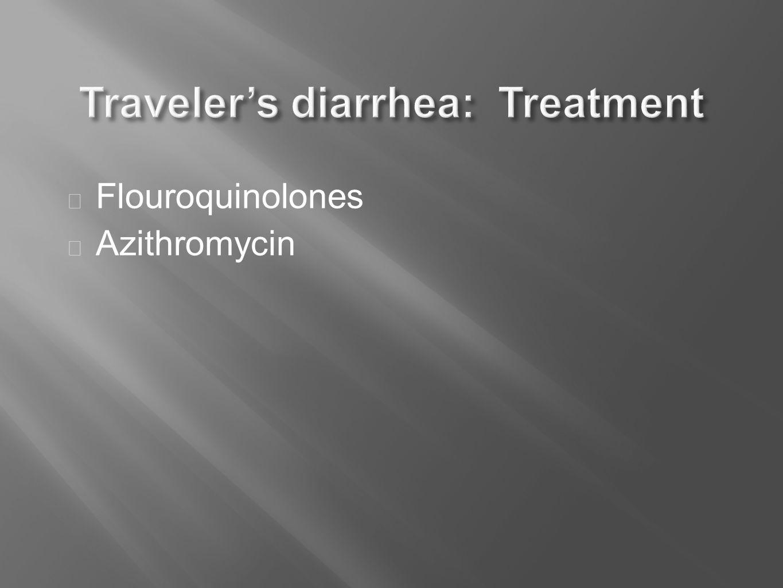  Flouroquinolones  Azithromycin
