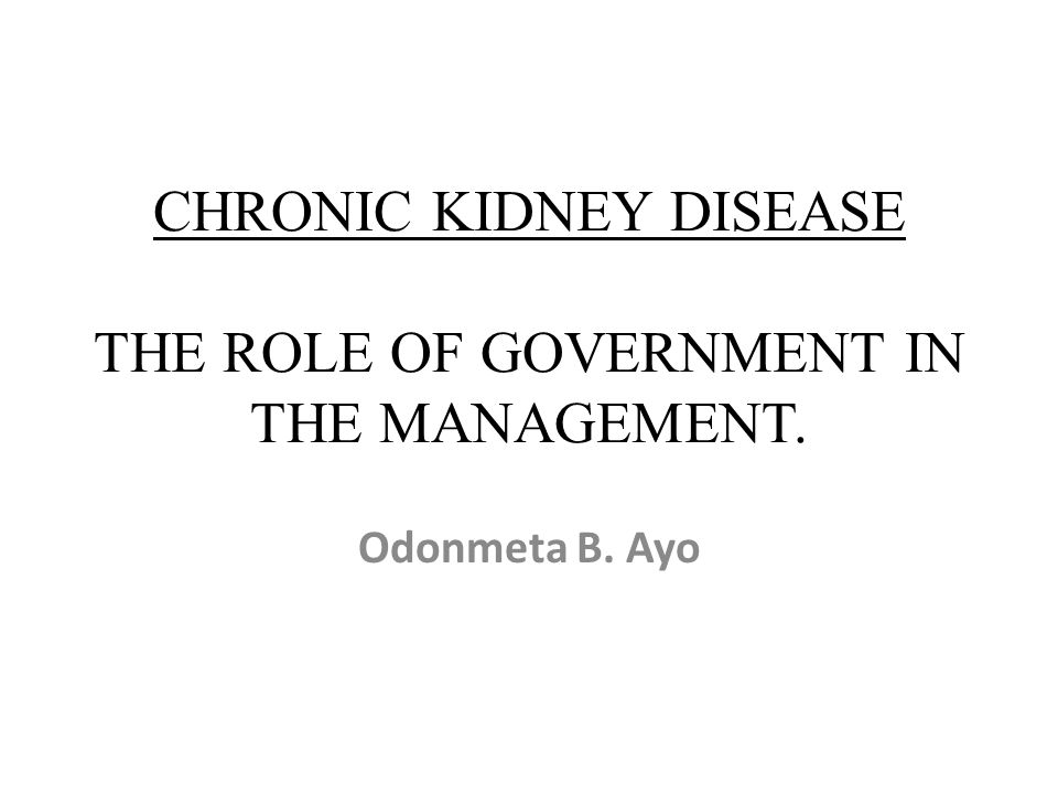 Pre Test 1.CKD is a global health problem 2.