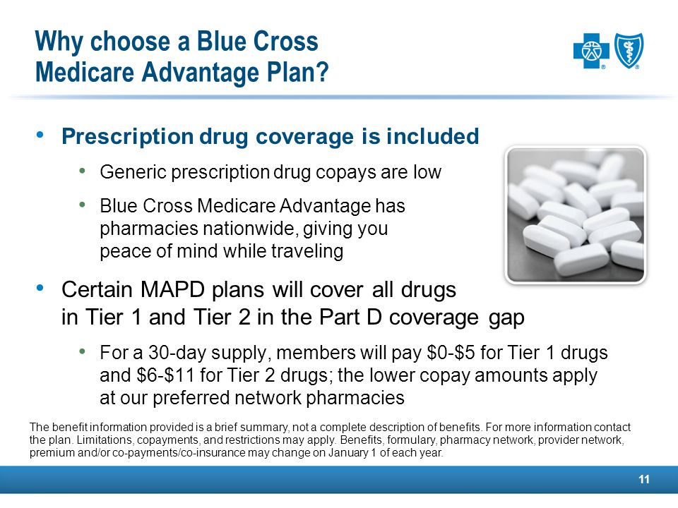 Why choose a Blue Cross Medicare Advantage Plan.