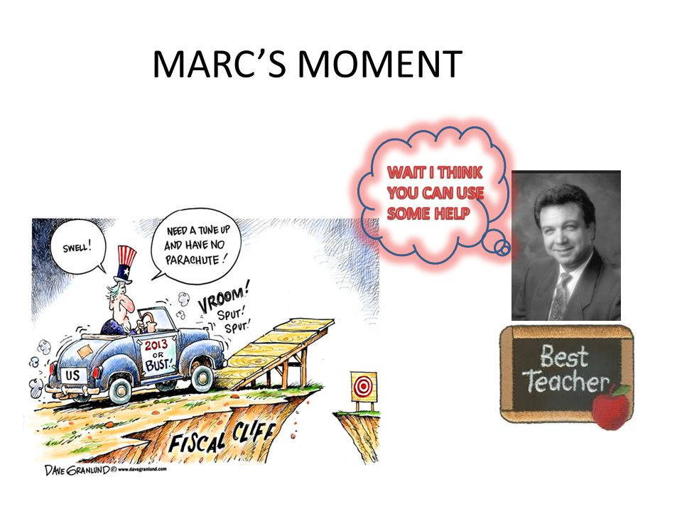 MARC'S MOMENT