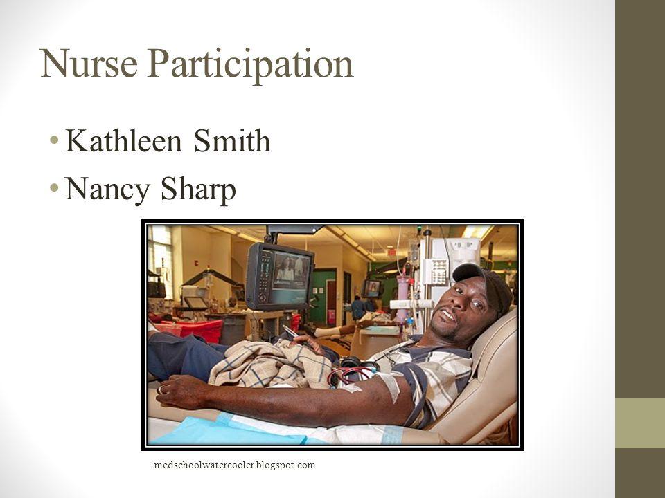 Nurse Participation Kathleen Smith Nancy Sharp medschoolwatercooler.blogspot.com