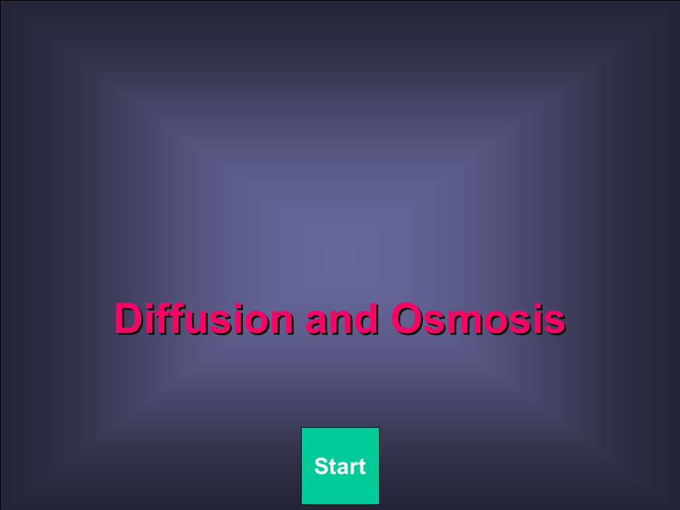 Quit OSMOMETER Diffusion of water takes place through the membrane.