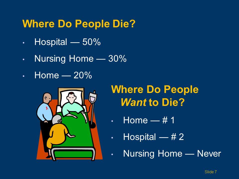 Palliative care arose because of a need