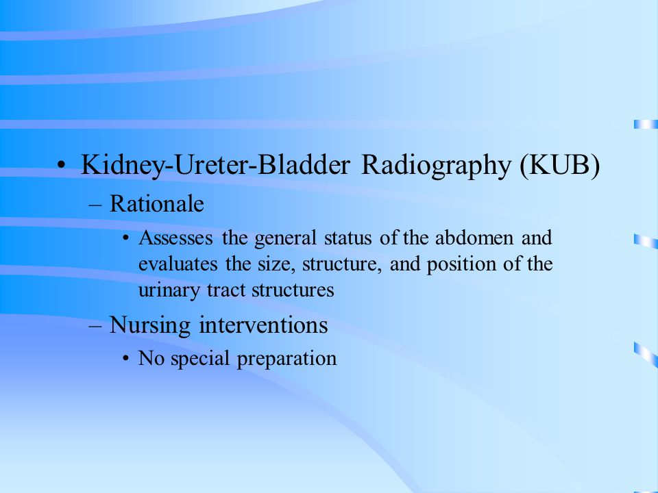 Urinary Obstruction Etiology/Pathophysiology –Strictures –Kinks –Cysts –Tumors –Calculi –Prostatic hypertrophy