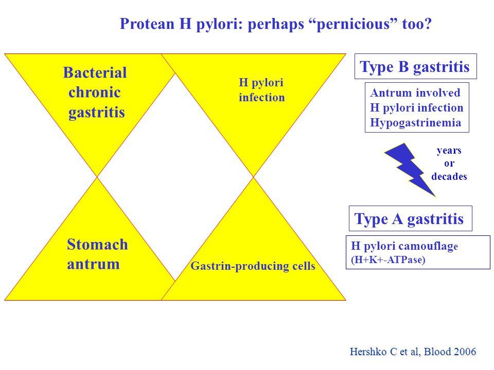 Protean H pylori: perhaps pernicious too.