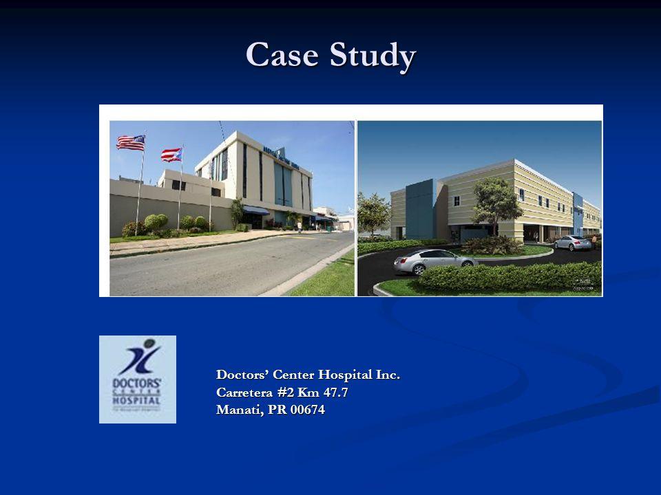 Doctors' Center Hospital Inc. Carretera #2 Km 47.7 Manati, PR 00674