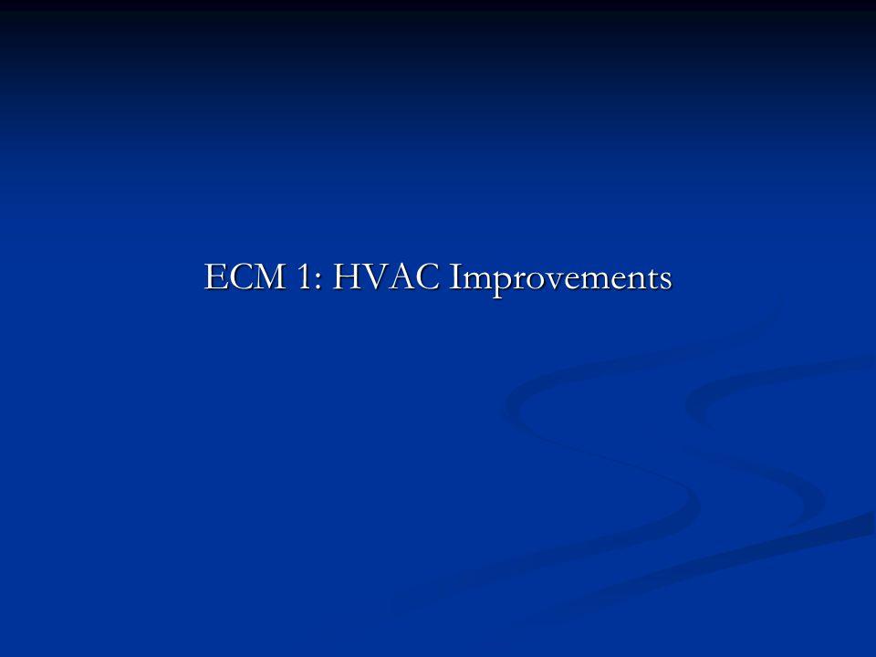 ECM 1: HVAC Improvements