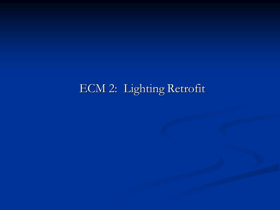 ECM 2: Lighting Retrofit