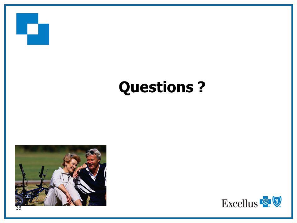 38 Questions ?