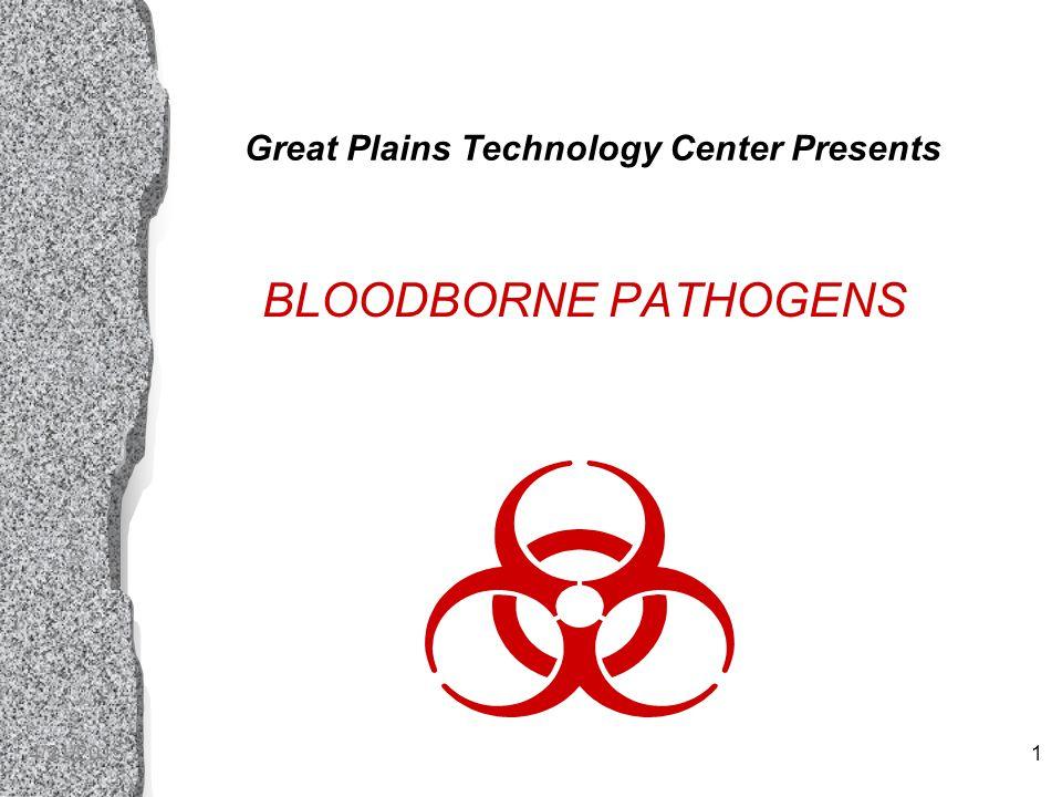 4/21/20151 Great Plains Technology Center Presents BLOODBORNE PATHOGENS