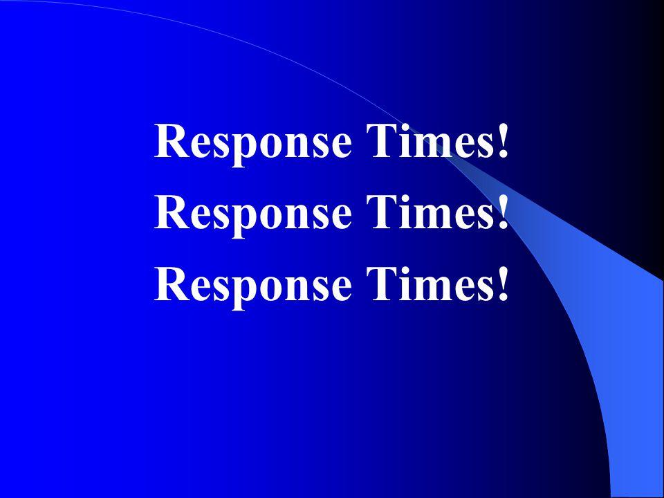 Response Times!
