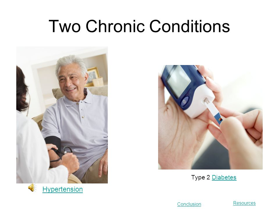 Chronic disease is a disease that is long-lasting or recurrent.
