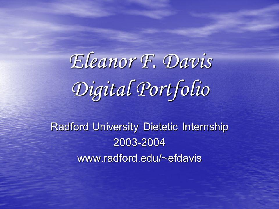 Eleanor F.