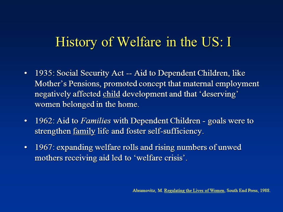 I Community Pediatrics: Welfare Reform and the Health of Women and Children Wendy Chavkin, MD, MPH * Paul H. Wise, MD, MPH † Diana Romero, PhD, MA * B