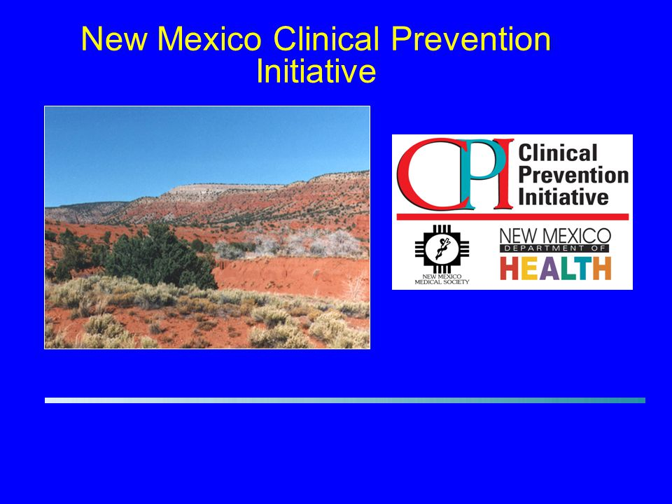 New Mexico Clinical Prevention Initiative