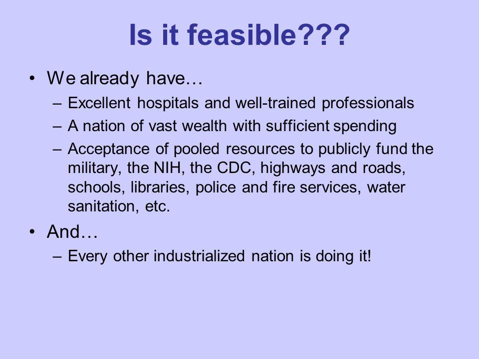 Is it feasible??.