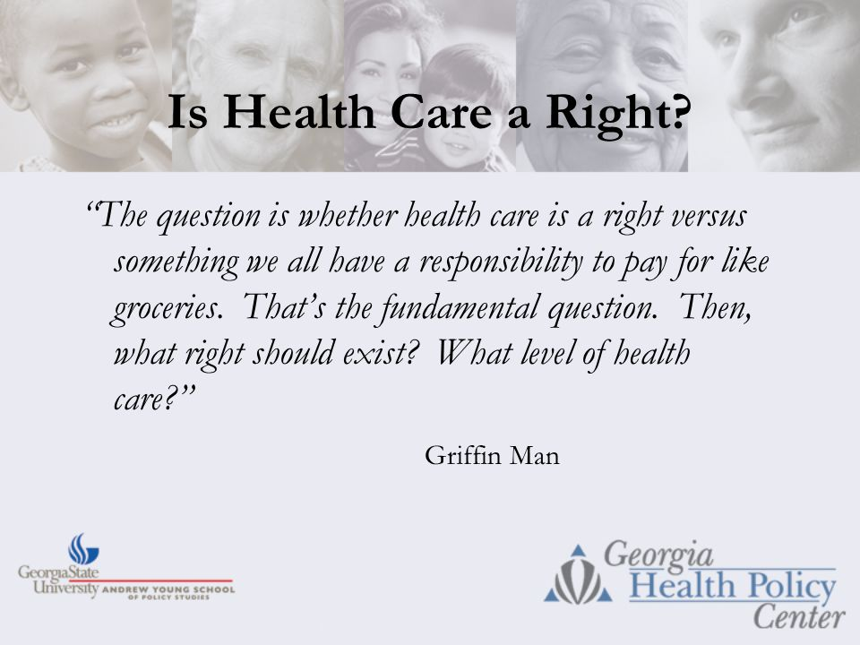 Is Health Care a Right.