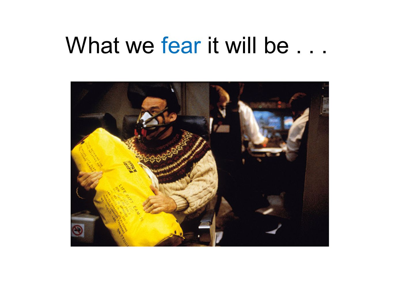 What we fear it will be...
