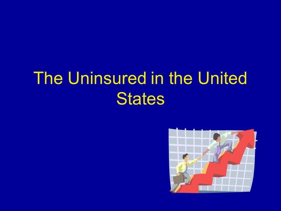 Characteristics of the Rural Uninsured