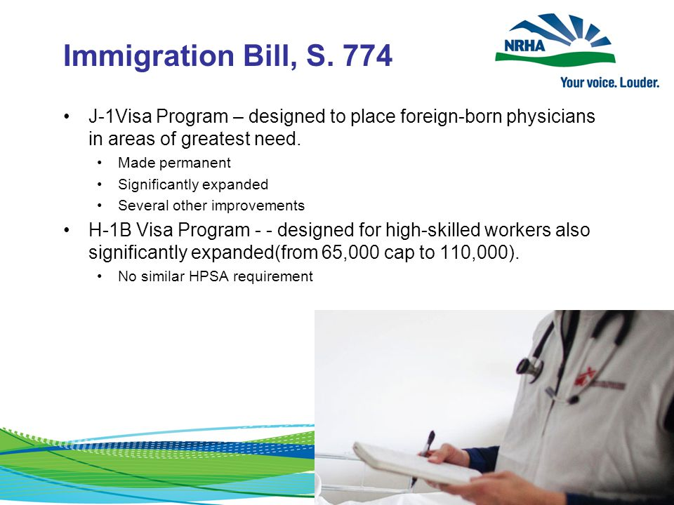 Immigration Bill, S.