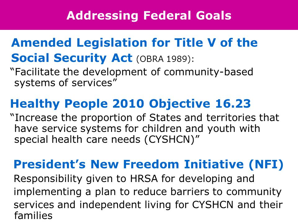 National Center of Medical Home Initiatives INSERT LOGO HERE Who We Are… Mission: to work in cooperation with federal agencies, particularly the Maternal and Child Health Bureau to ensure that CYSHCN have access to a medical home A Medical Home is not a building,house, or hospital, but rather an approach to providing comprehensive primary care.