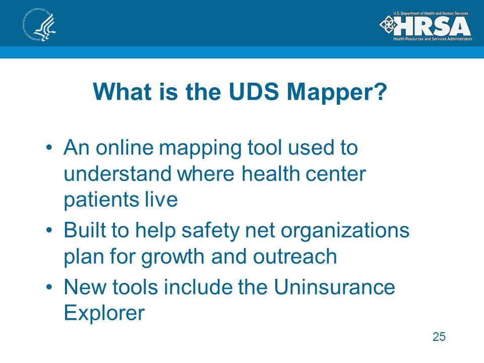25 What is the UDS Mapper.