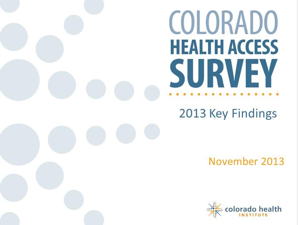2013 Key Findings November 2013