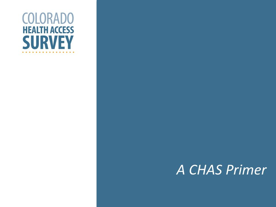 CHAS: The Questions It Answers