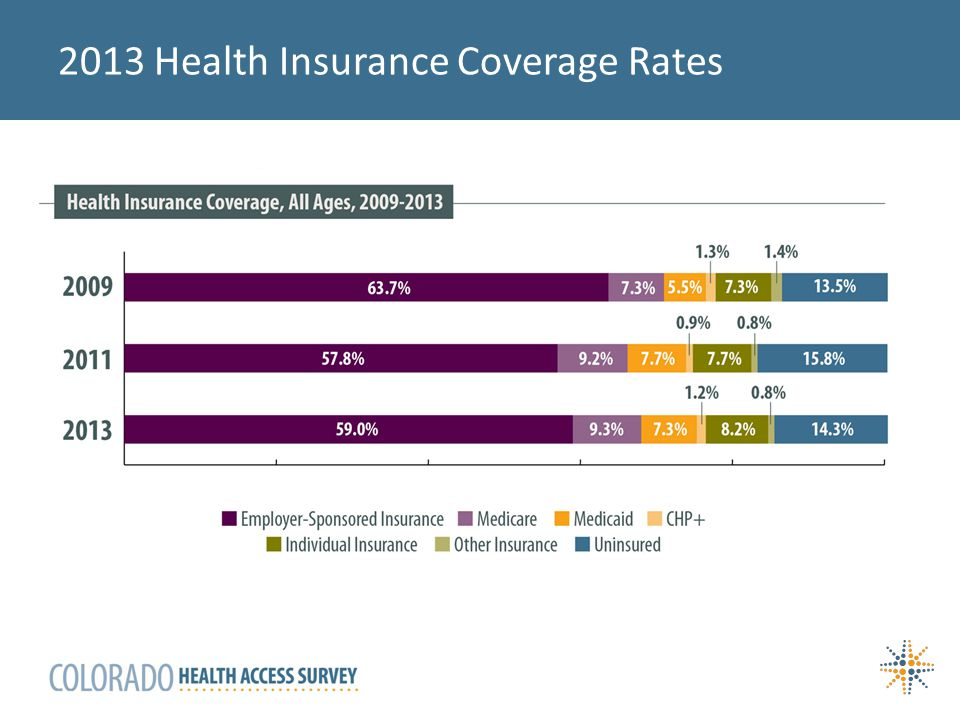 2013 Health Insurance Coverage Rates