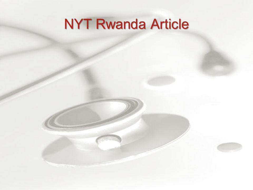NYT Rwanda Article
