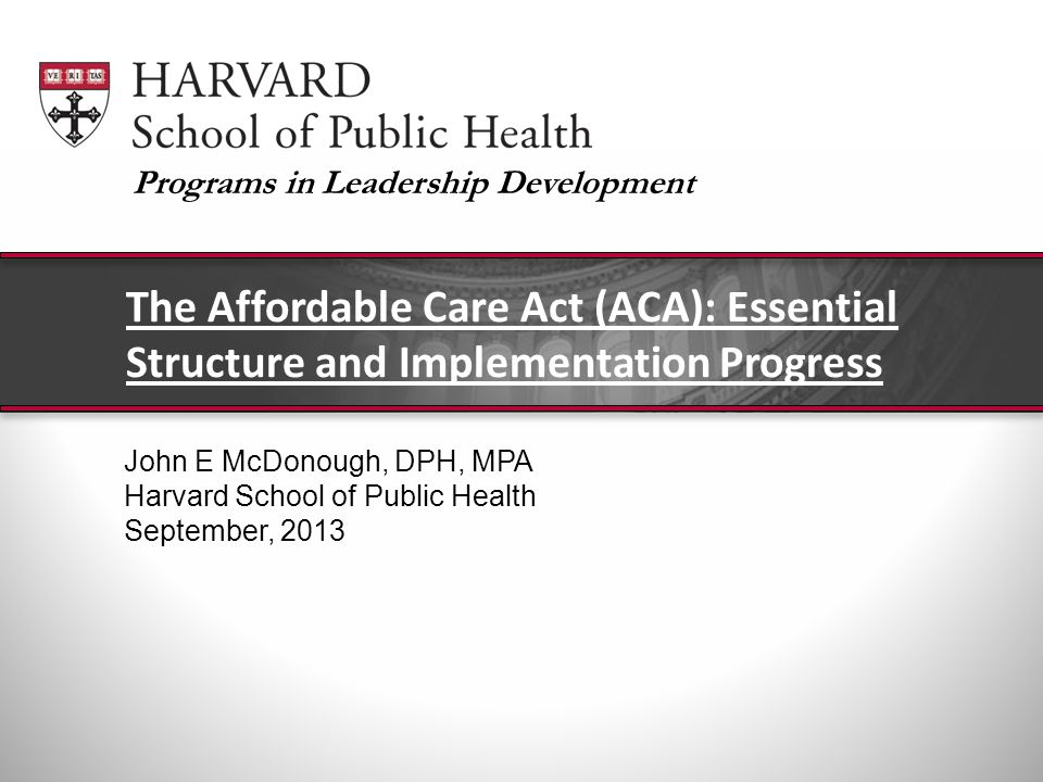 Health Care Reform The Massachusetts Experience John Auerbach Institute for Urban Health Research and Practice