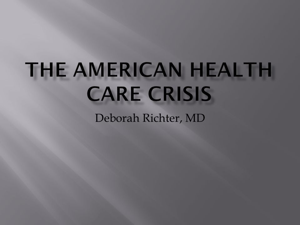 Deborah Richter, MD