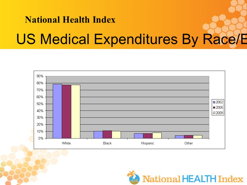 National Health Index US Medical Expenditures By Race/Ethnicity