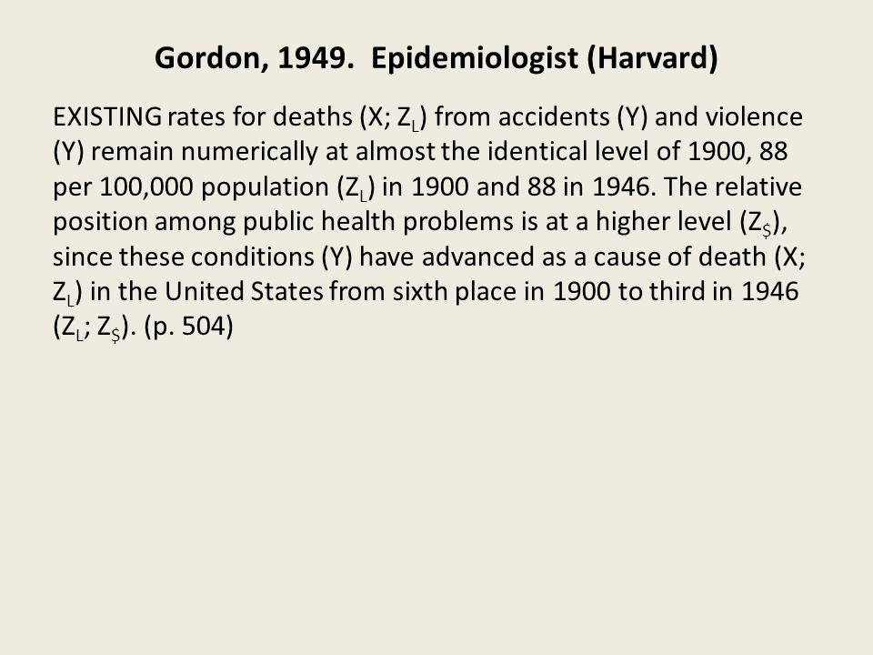 Gordon, 1949.