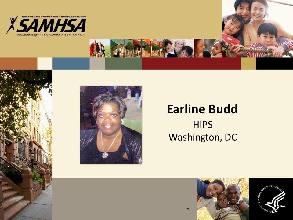 Earline Budd HIPS Washington, DC 9