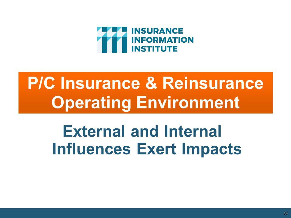 83 P/C Insurance & Reinsurance Operating Environment External and Internal Influences Exert Impacts 12/01/09 - 9pm 83