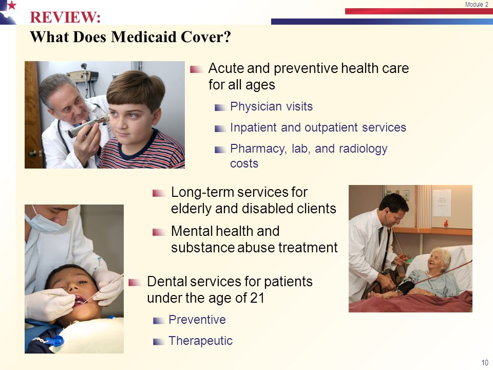 REVIEW: What Does Medicaid Cover.