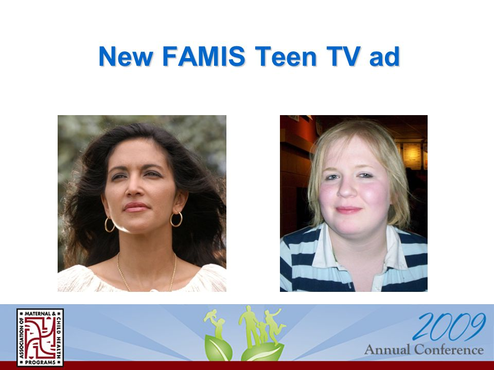 New FAMIS Teen TV ad