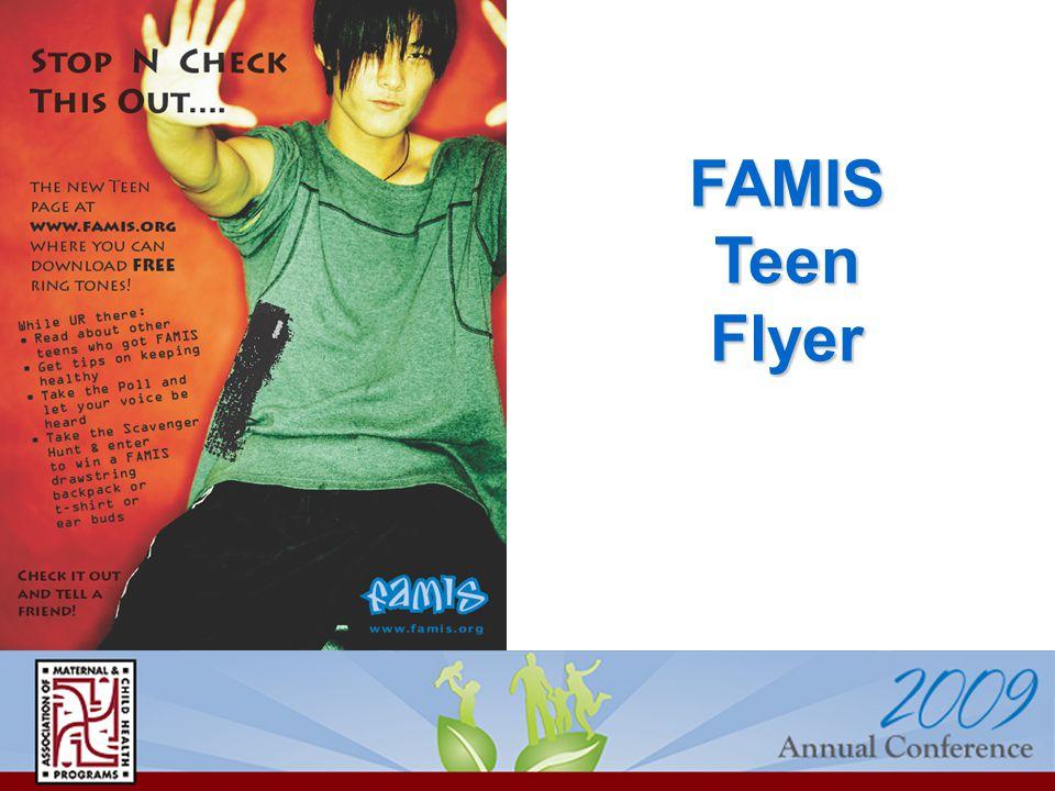 FAMIS Teen Flyer