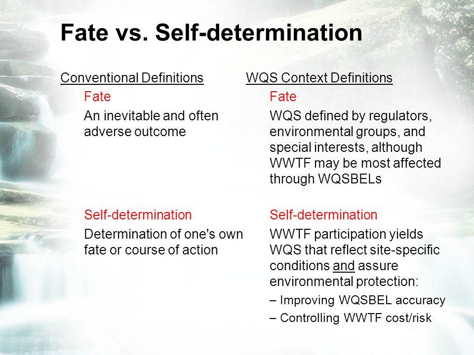 Fate vs.
