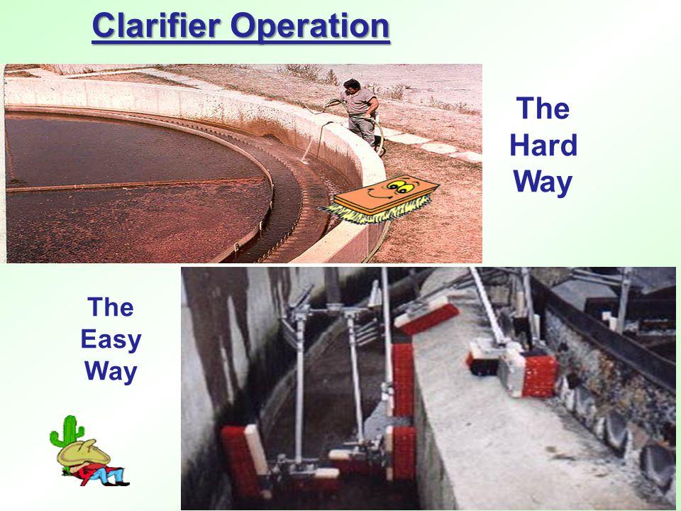 The Hard Way The Easy Way Clarifier Operation