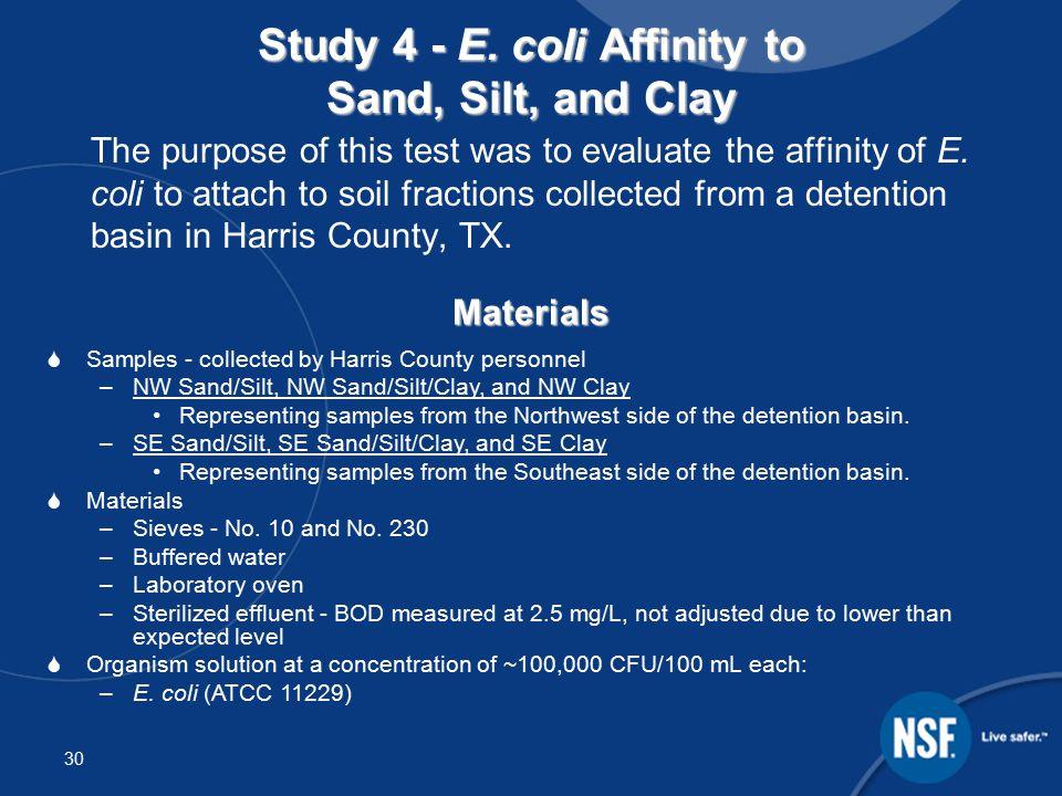 30 Study 4 - E.